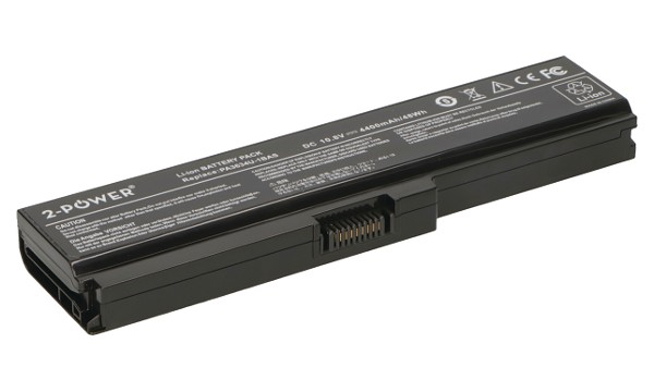 <b>2-Power alternative</b> for Toshiba PA3634U-1BAS Battery
