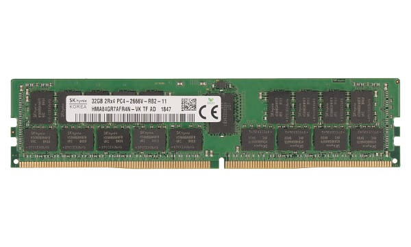 PowerEdge M630 32GB 2Rx4 2666MHz ECC Reg RDIMM CL19