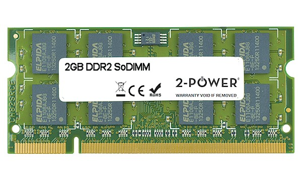 Aspire One D255E-13DQrr 2GB DDR2 800MHz SoDIMM