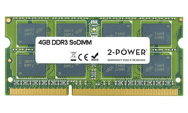 Pavilion 17-e060so 4GB MultiSpeed 1066/1333/1600 MHz SoDiMM
