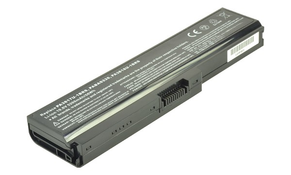 Satellite L650-1PW Batteri (6 Cells)