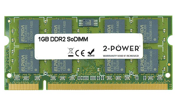 Satellite Pro A300-1JQ 1GB DDR2 800MHz SoDIMM