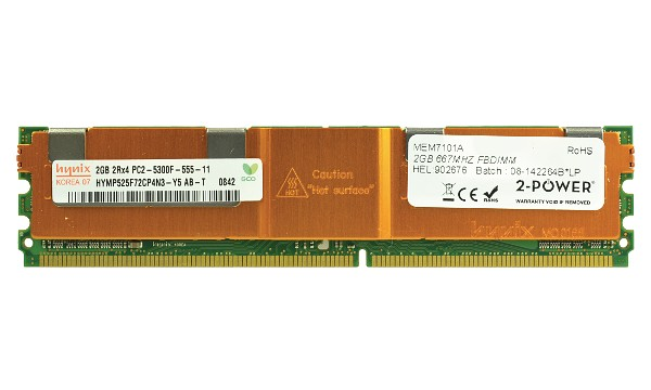 ProLiant ML150 G3 2GB DDR2 667MHz FBDIMM