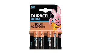 Duracell Ultra Power AA 4 Pack