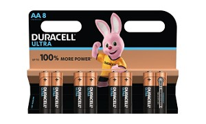 Duracell Ultra Power AA Pack 8