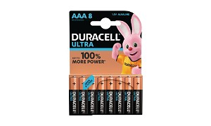 Duracell Ultra Power AAA Pack av 8