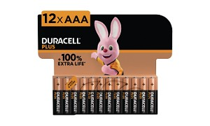 Duracell Plus Power AAA 12 Packs Batterier