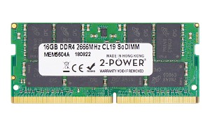 16GB DDR4 2666MHz CL19 SoDIMM